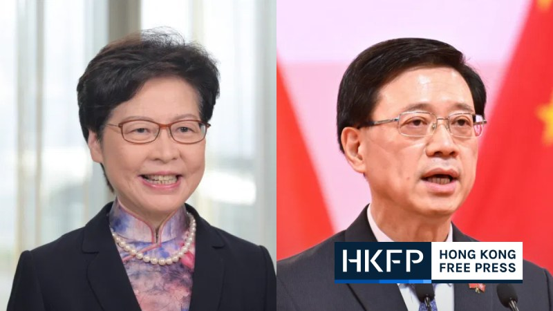Carrie Lam commercial radio comments