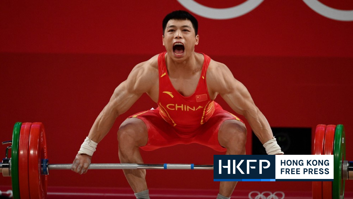 Chen weightlifting win