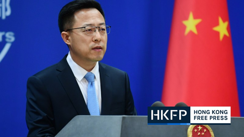 China ministry of foreign affairs lambasts BBC