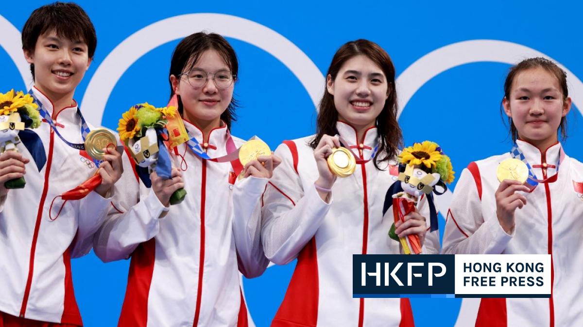 China shock Australia, US in record-breaking women's 4x200m relay