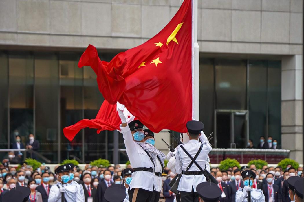 china Chinese flag july 1