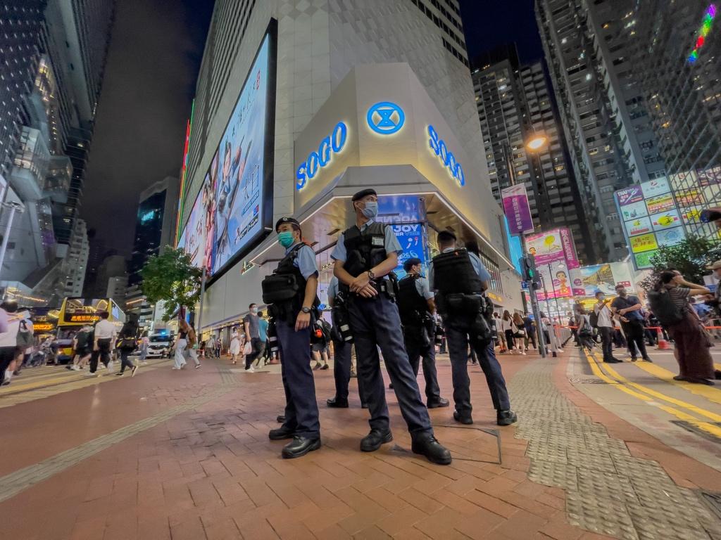 police stabbing sogo
