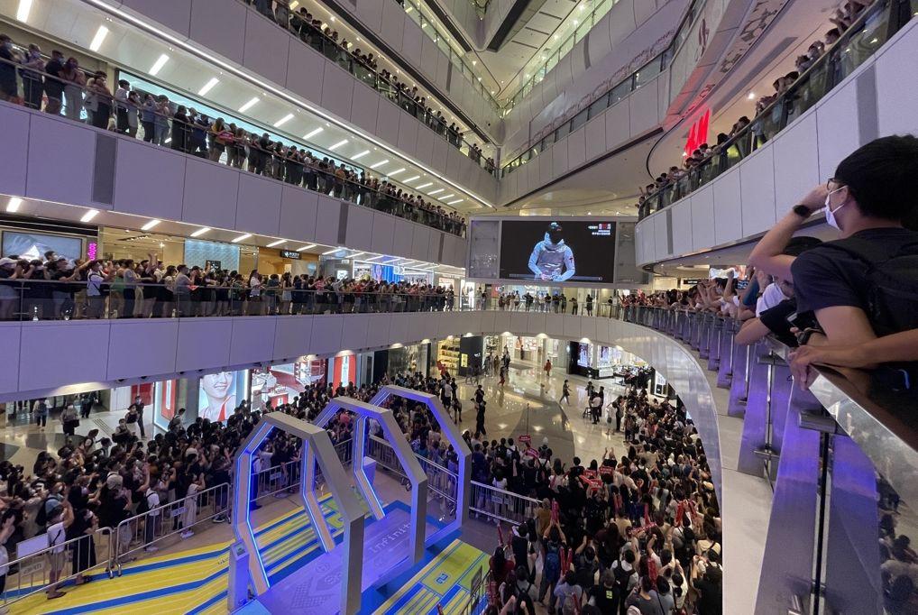 Edgar cheung ka long Tokyo Olympics fencing men's foil shopping mall