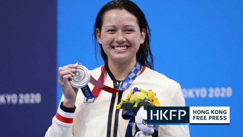 Hong Kong Swimmer Haughey wins silver medal at Tokyo Olympics