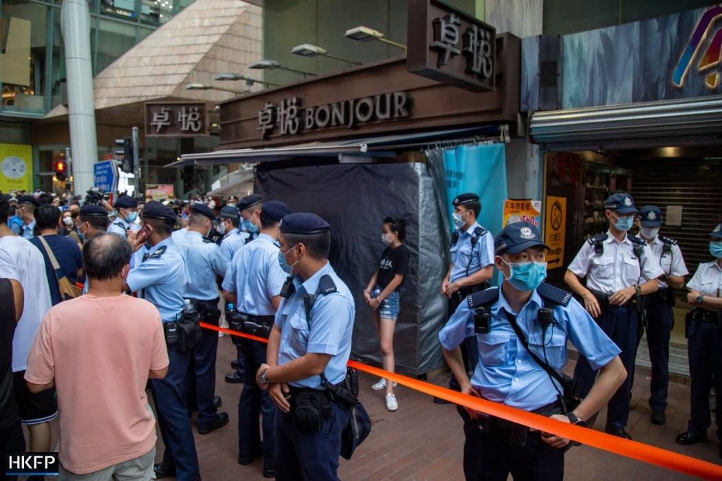 Mong Kok July 1, 2021