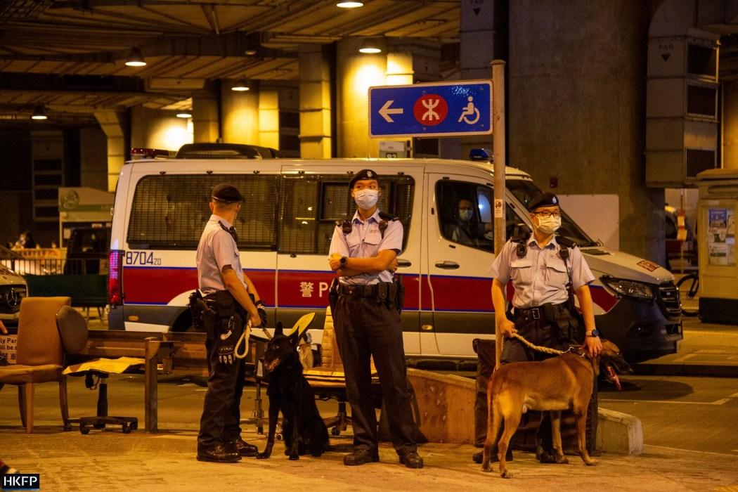 Yuen Long July 21, 2021 police
