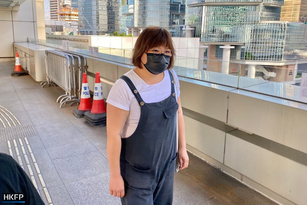 Jessica Kong Tong Ying-kit trial