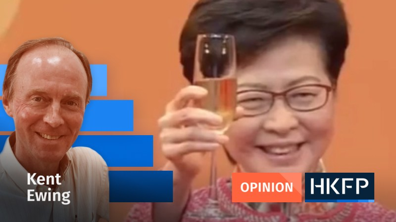 Kent ewing on Carrie Lam's suicidal move on Hong Kong