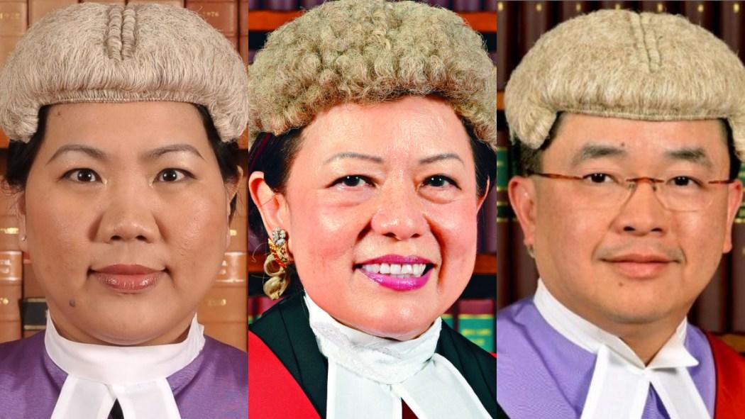 anthea pang, esther toh, wilson chan national security judges high court