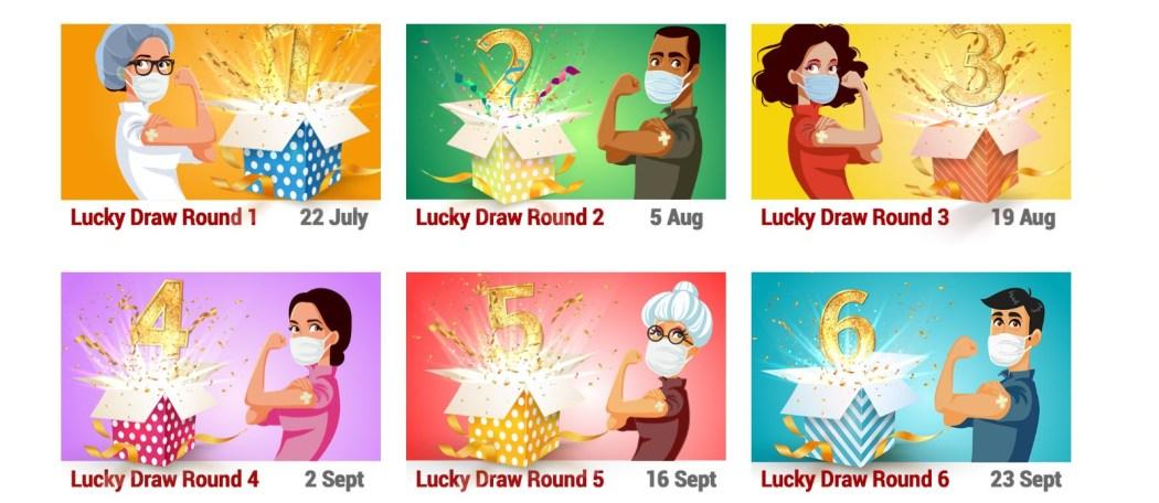 HKGCC lucky draw