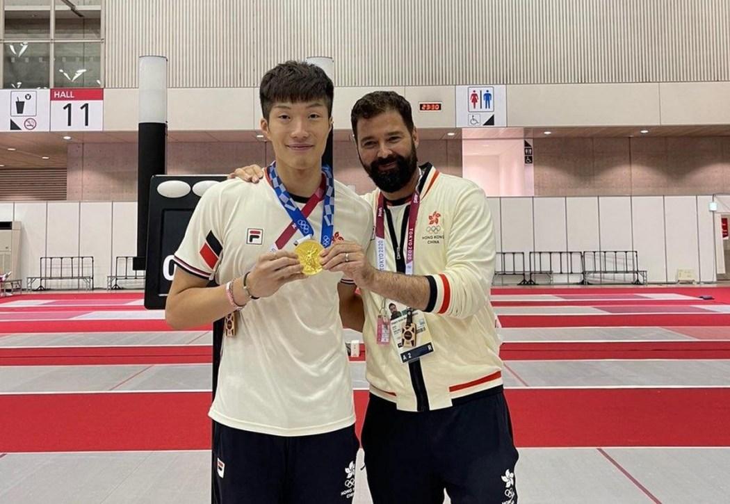 Edgar Cheung Tokyo Olympics fencing men's foil