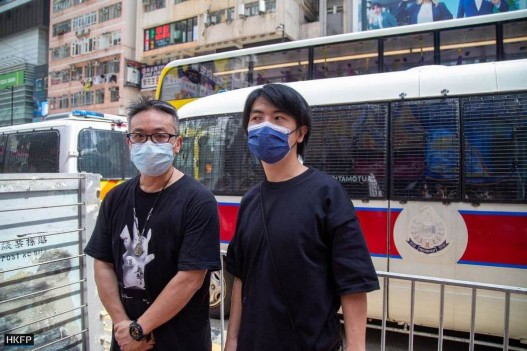 Leo Tang of the Hong Kong Confederation of Trade Unions HKCTU July 1 2021