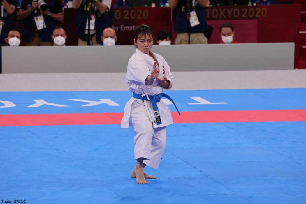 Grace Lau kata karate tokyo olympics sports japan