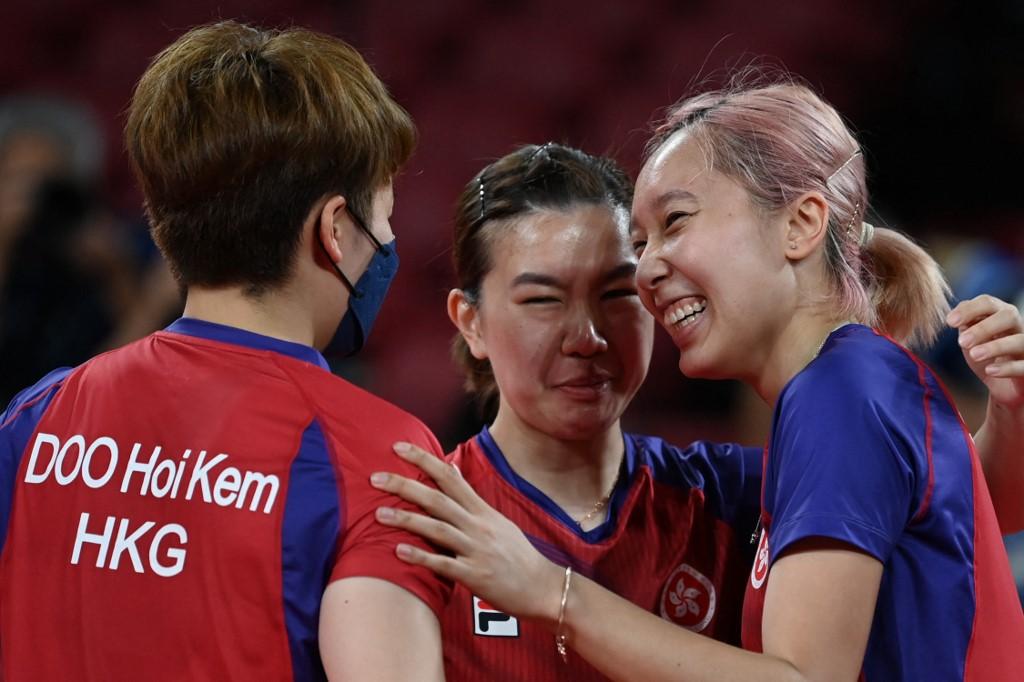 table tennis hong kong medal