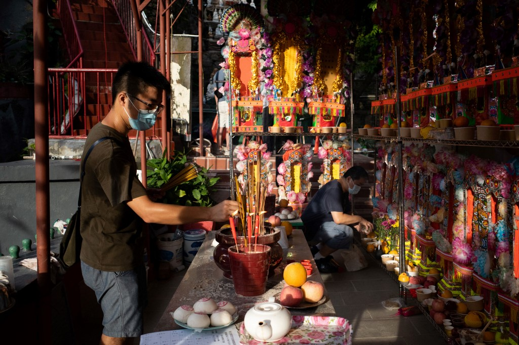 AFP hungry ghosts festival