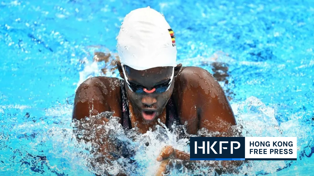AFP paralympic swimming