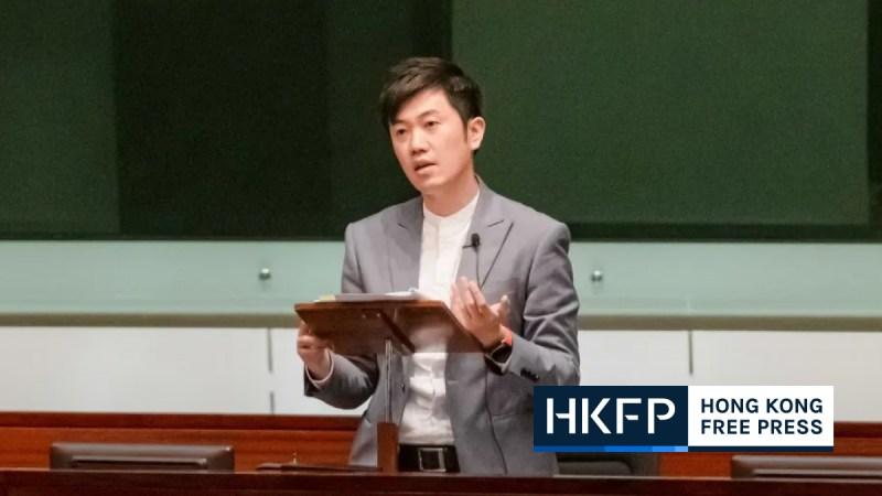 Cheng Chung-tai disqualify