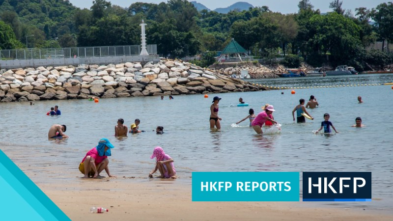HKFP Reports - Lung Mei Beach