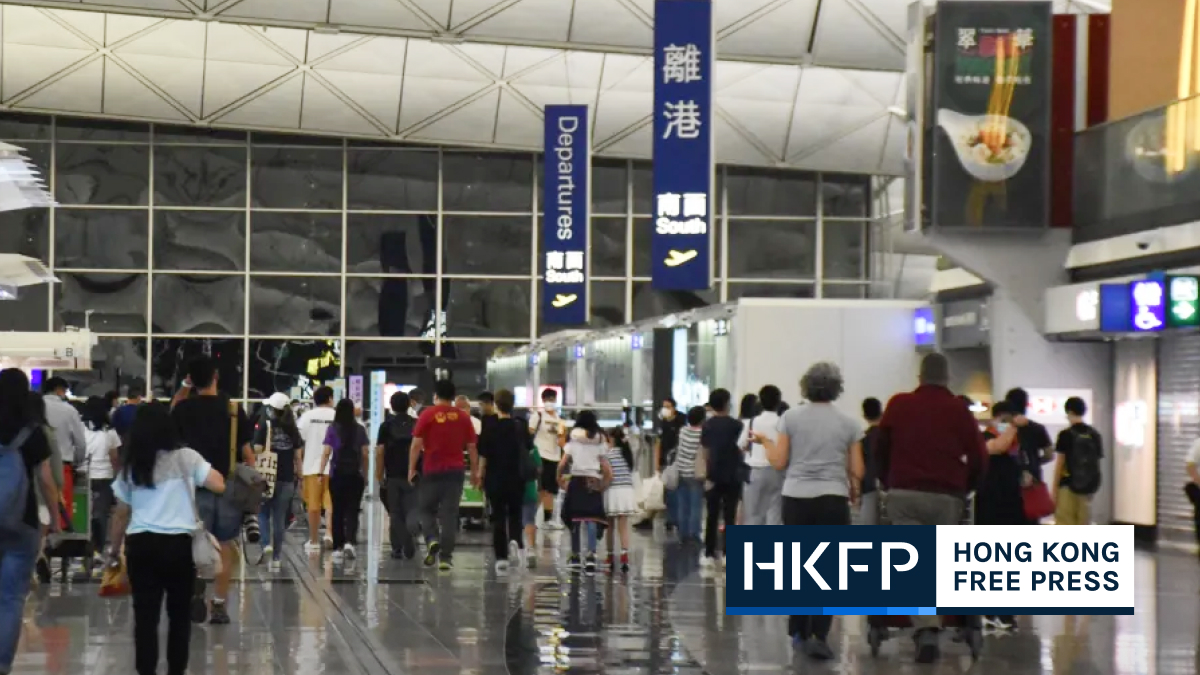 Hong Kong population outflow