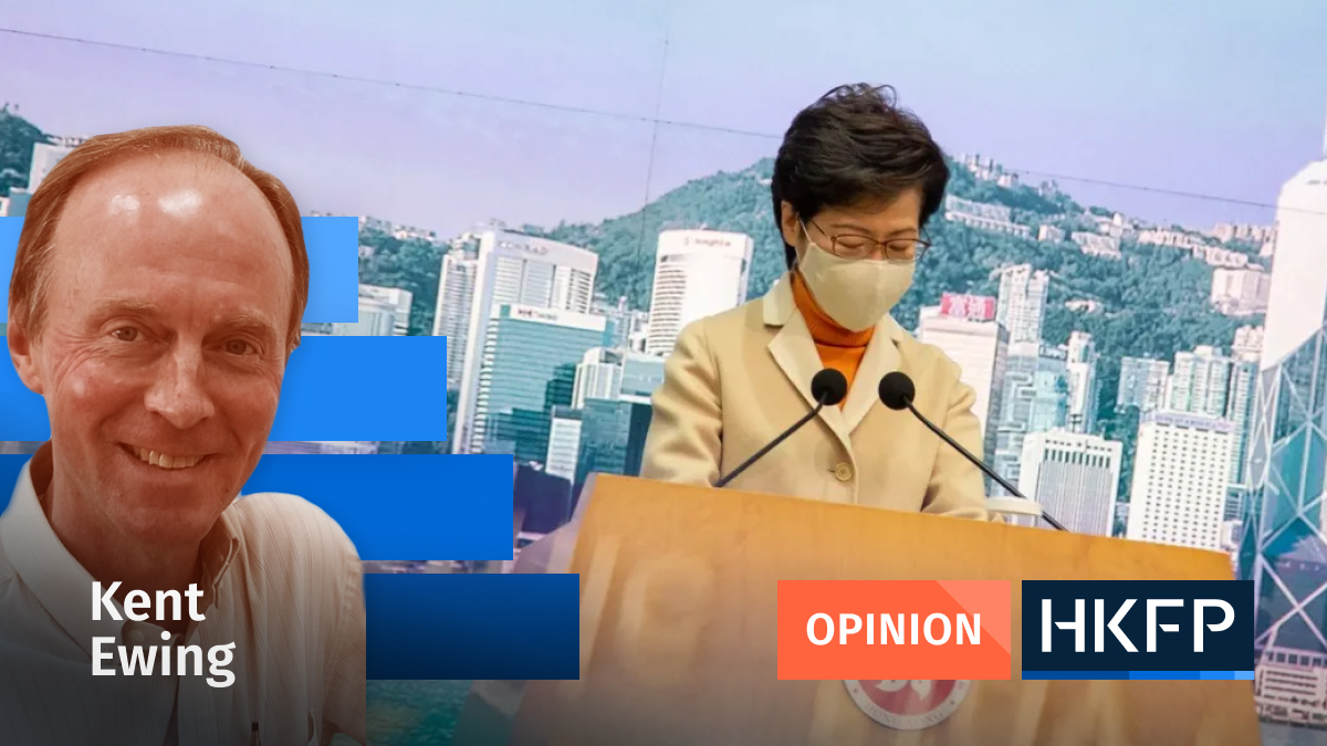 Opinion - Kent Ewing Carrie Lam