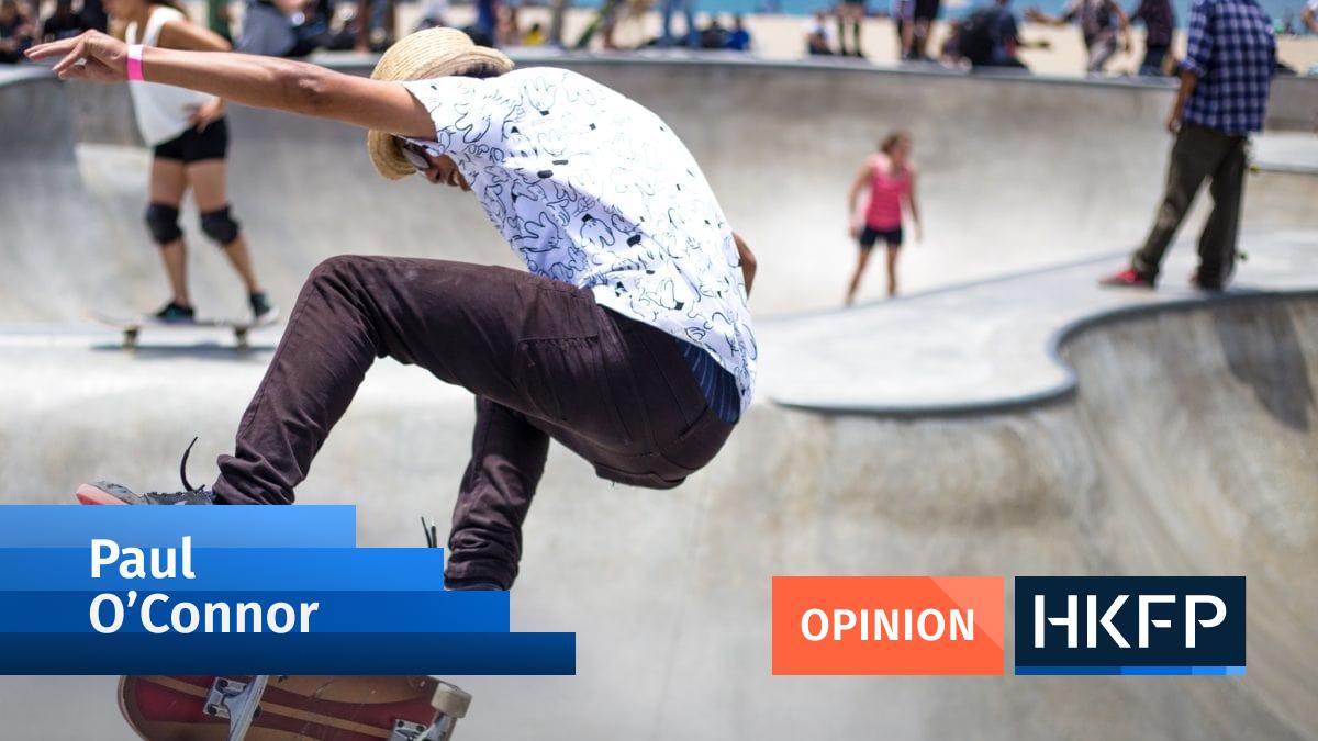Paul O'Connor- skateboarding