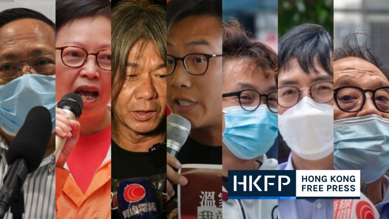 Seven democratas admitted guilt to 2019 kowloon demonstration