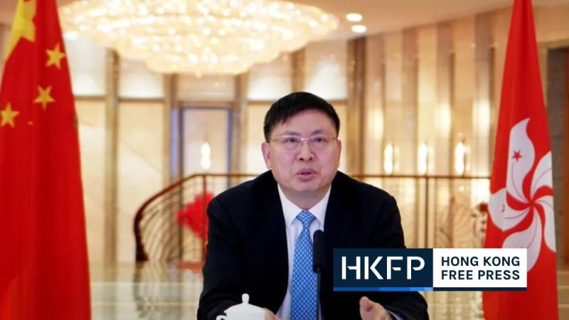 Song ruan at hot pot dinner with hong kong officials