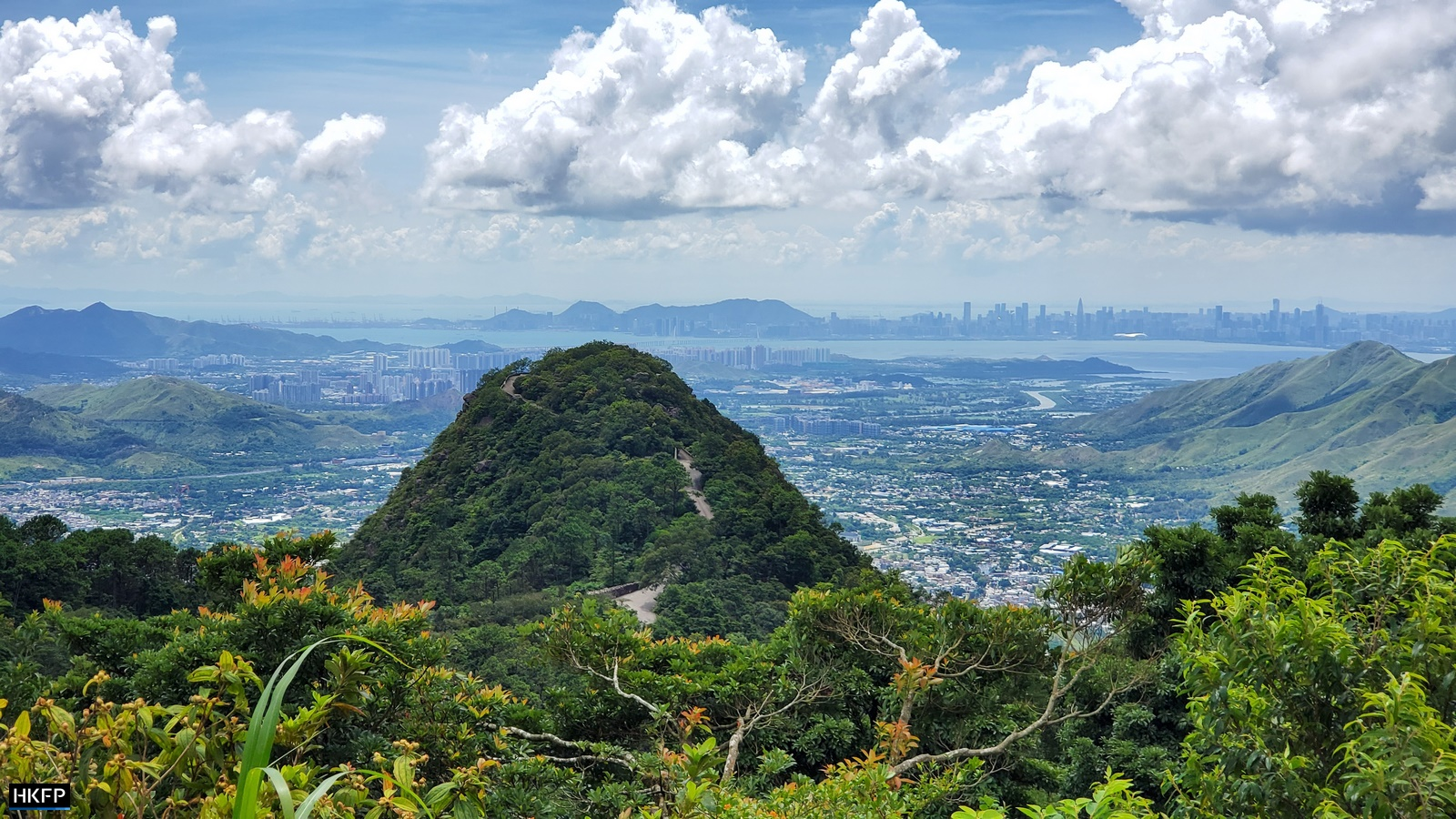 View From The Walking Trails At Kadoorie Farm & Botanic Garden