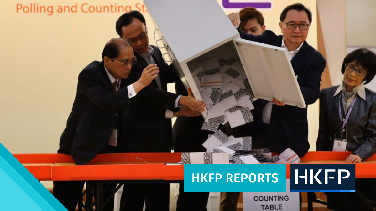 almost every candidate to the hong kong election committee will be elected