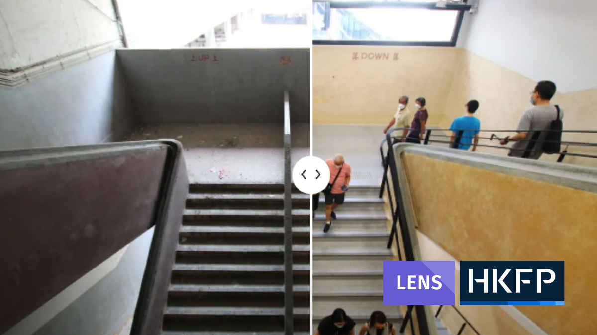 central market before after