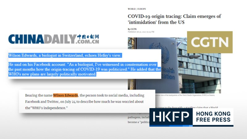 China Daily and CGTN