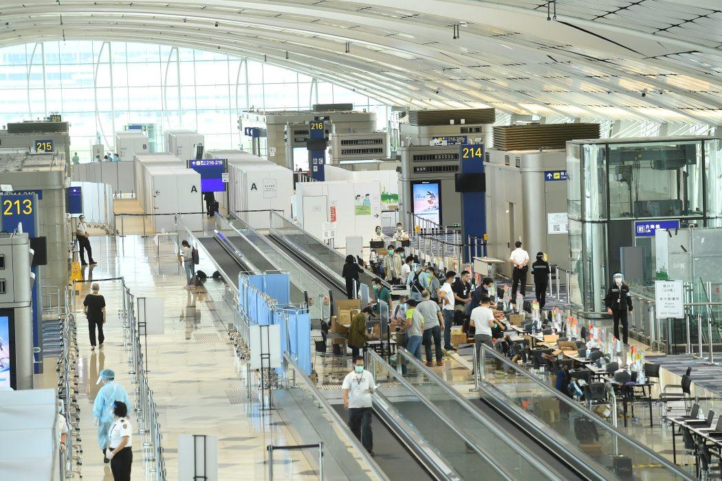 Hong Kong Airport Covid-19