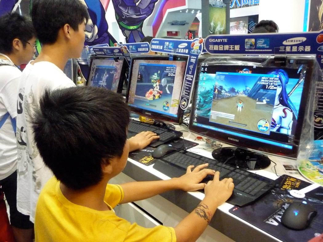 china video game gaming esport