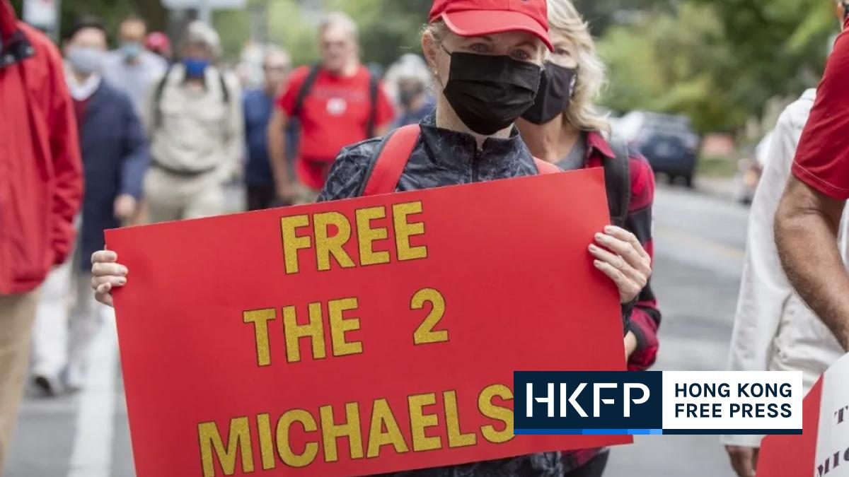 AFP China Canada Michaels