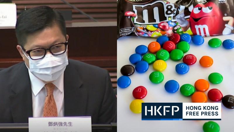 chris tang says chocolates endanger national security