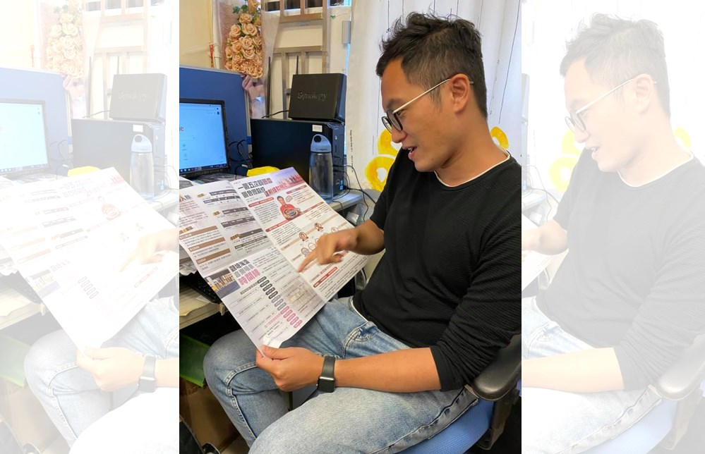 Vincent Cheng Keng-leong community newspaper