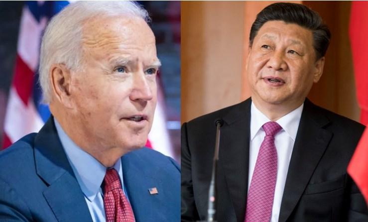 Jo Biden Xi Jinping