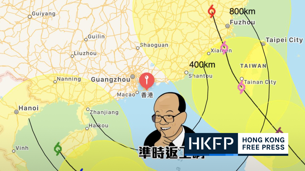 li's field suspected of preventing two typhoons from landing in hong kong