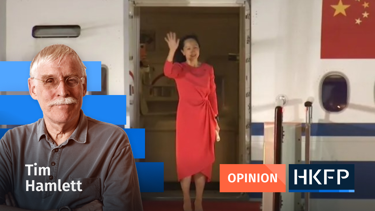 meng wanzhou - Opinion - Tim Hamlett