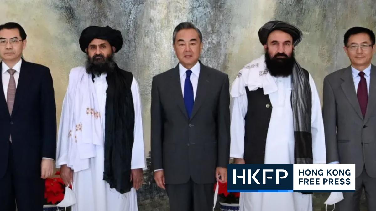 taliban and china get cozy