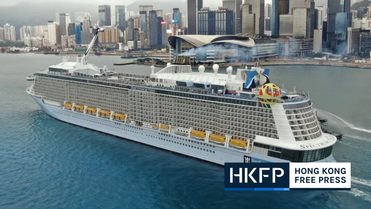 1200 Hongkongers who took cruise to nowhere to undergo virus tests after crew member found positive