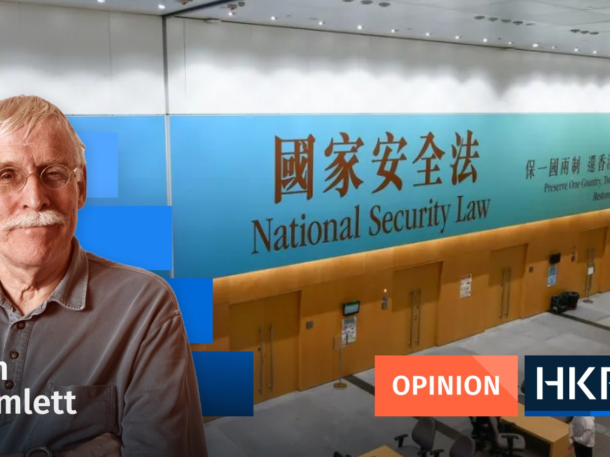 Article - Opinion - Tim Hamlett National security