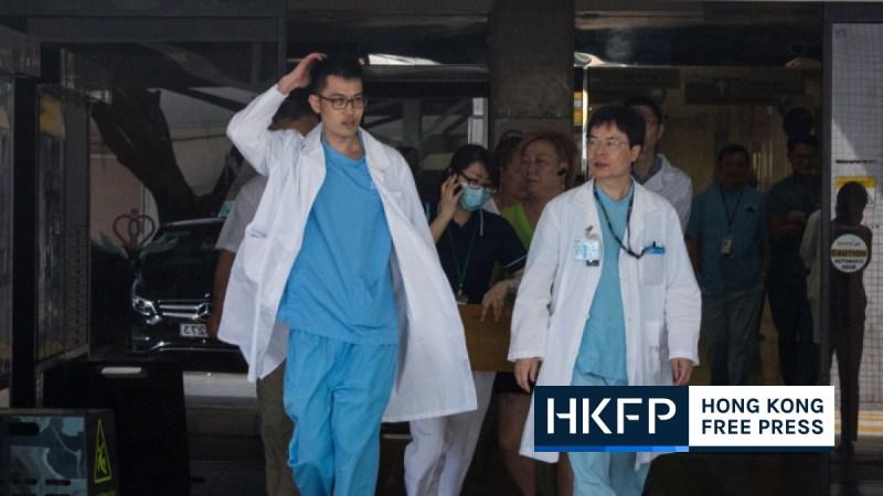 Hong Kong doctors abroad