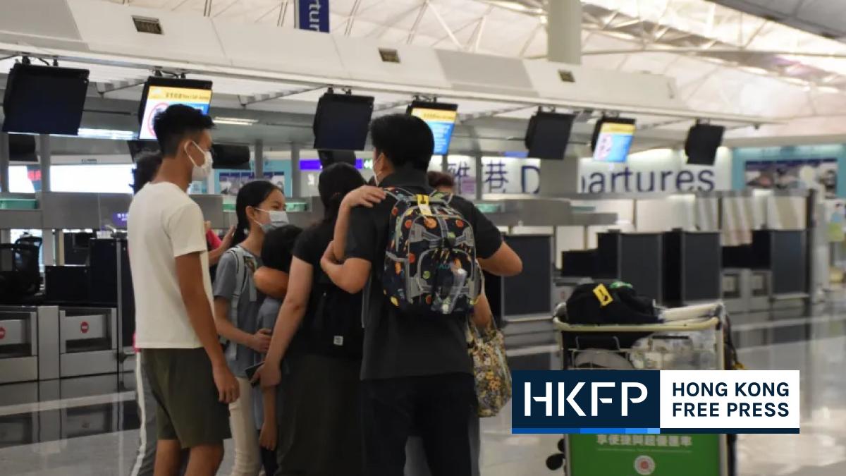 Hongkongers UK job