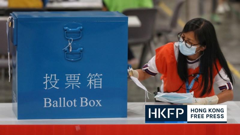 Mainland voting border polling