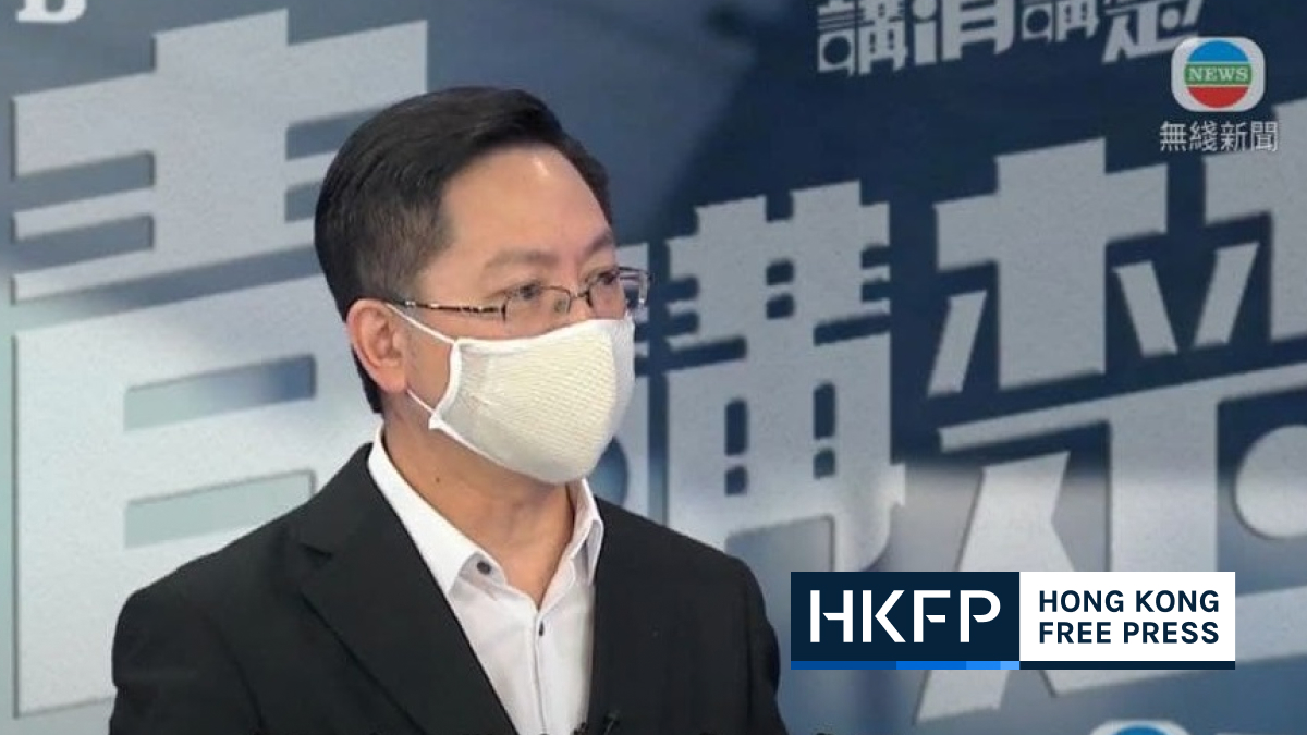 alfred sit on health code proposal submitted to mainland china