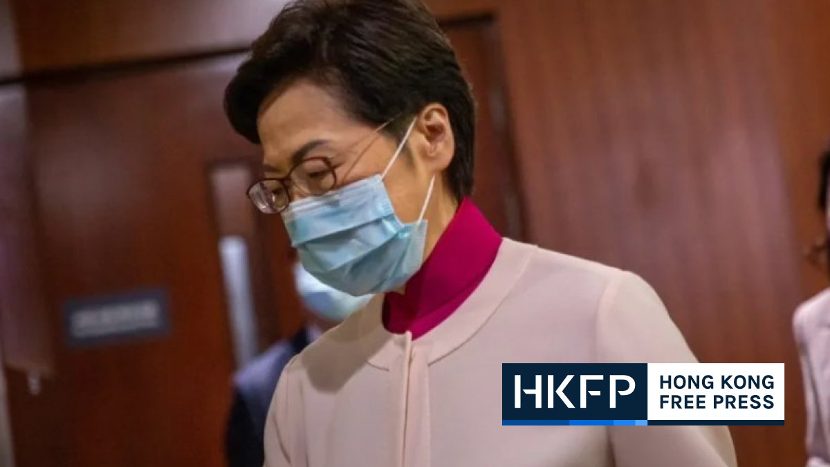 carrie lam policy