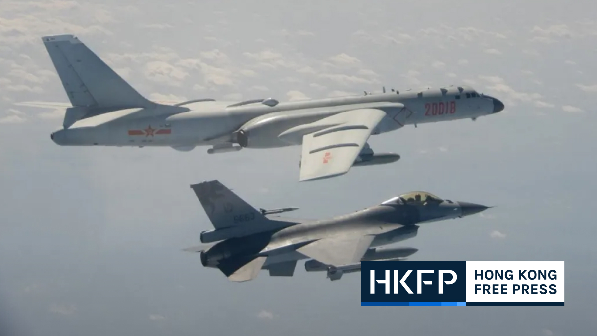 taiwan china warplane
