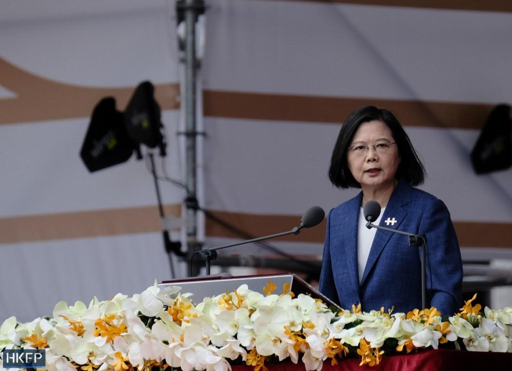 Taiwan-National Day Tsai Ing-wen President